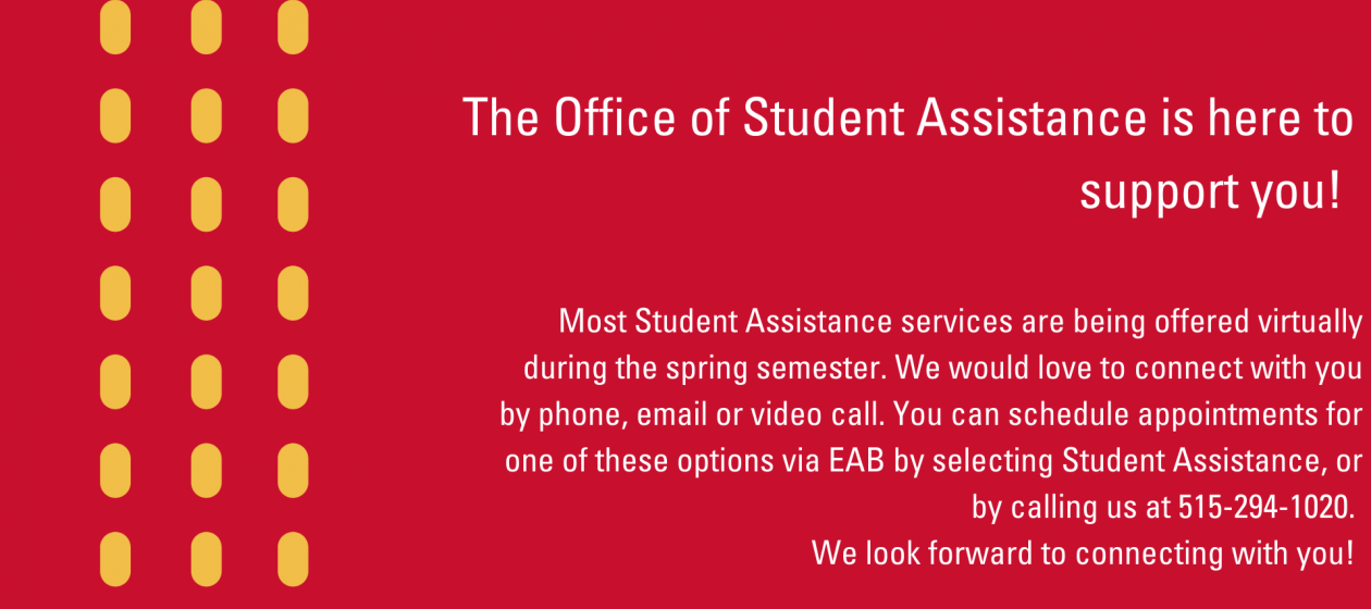 Student Assistance Fall Services